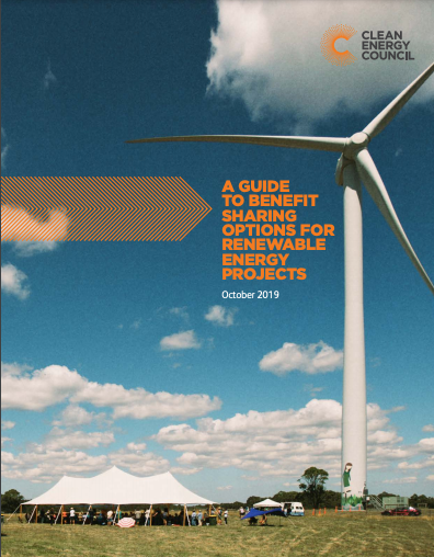 Guide to Benefit Sharing for Renewable Energy Projects