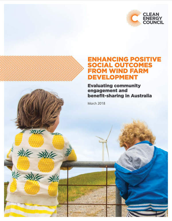 Thumbnail: Enhancing Positive Social Outcomes from Wind Farm Development
