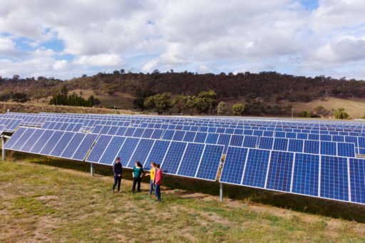 CPA Directors at a community solar farm