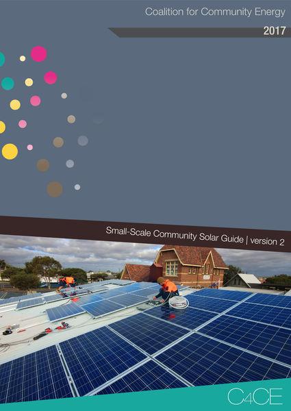 C4CE Small-scale Community Solar Guide