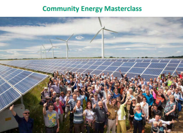 Community Energy Masterclass