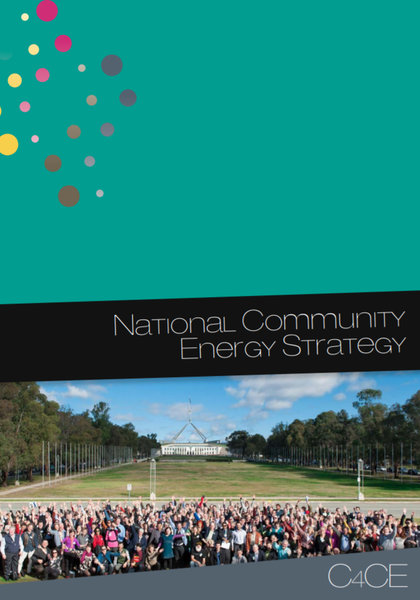 National Community Energy Strategy 2015