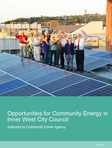Opportunities for Community Energy in Inner West Council