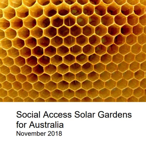 Social Access Solar Gardens for Australia