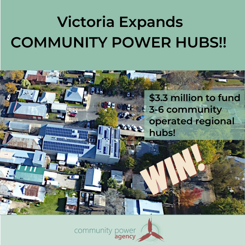 Community Power Hubs WIN